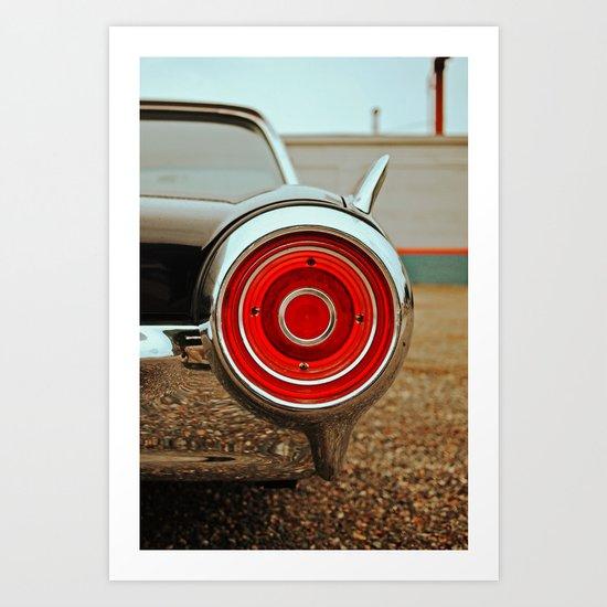 Thunderbird details Art Print