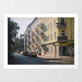Summer in Berlin Art Print