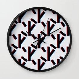 Tree D Wall Clock