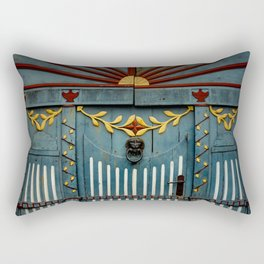 The Gate to Valhalla Rectangular Pillow