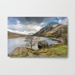 Lake Ogwen Snowdonia Metal Print