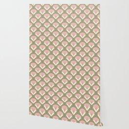 Mid-century Modern Radio Antenna Pattern /Rose Wallpaper