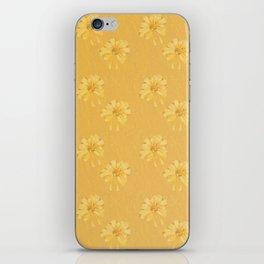 Yellow Orange Bows iPhone Skin