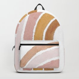 painted rainbow Backpack