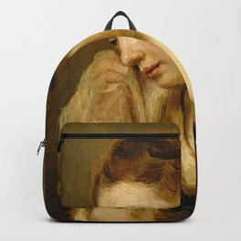 Rembrandt - A Weeping Woman Backpack