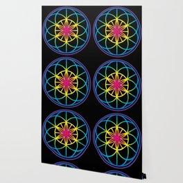 Sacred Symbols Rainbow Chakra Wallpaper