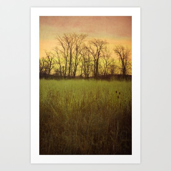 Morningtide - When Night is Left Behind Art Print