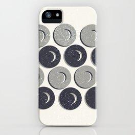 Circle Mayhem iPhone Case