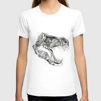 t rex T-shirts featuring T Rex by Cherry Virginia