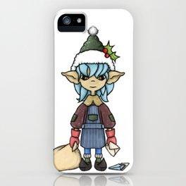 Elf Mail iPhone Case