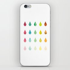 The Color of Rain iPhone & iPod Skin