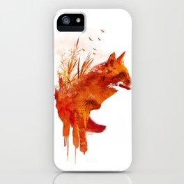 Plattensee Fox iPhone Case