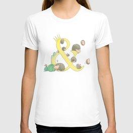 european hedgehog T-shirt