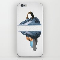 lee pace iPhone & iPod Skins featuring The Pace Is Glacial by Christopher Berry