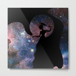 Galaxy From Within Metal Print