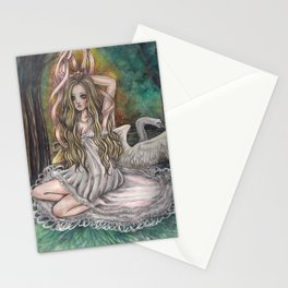 if ever lose my wings i will never stop to flying Stationery Cards