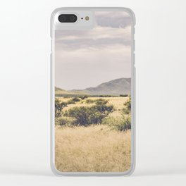 Storm over Arizona Clear iPhone Case