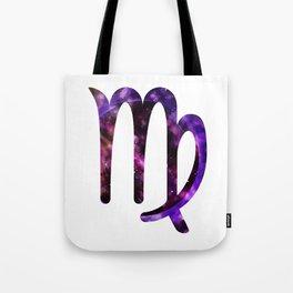 Galactic Virgo Tote Bag