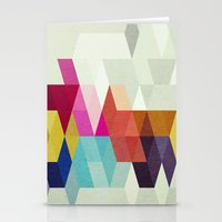 new order Stationery Cards featuring New Order by Three of the Possessed