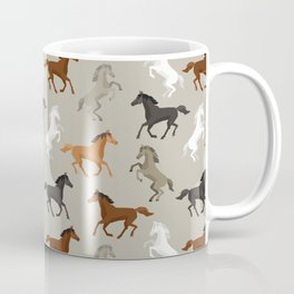 Horse Pattern | Horseback Riding Pony Stallion Coffee Mug