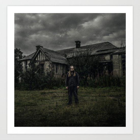 The Abandoned Place (120mm Rolleicord) Art Print