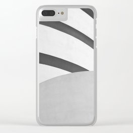 MUSEUM Clear iPhone Case