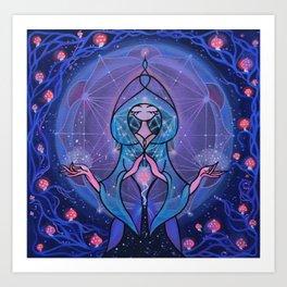 amanita spirit Art Print