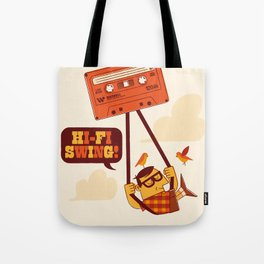The tapecist Tote Bag