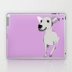 Whippet smile Laptop & iPad Skin