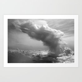 Explosion in the Sky Art Print