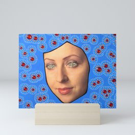 Lucy In The Sky With Rubies Mini Art Print