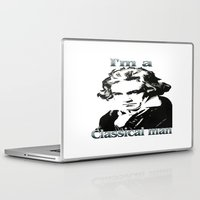 beethoven Laptop & iPad Skins featuring Beethoven by Stitched up designs