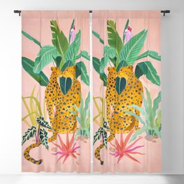Cheetah Crush Blackout Curtain