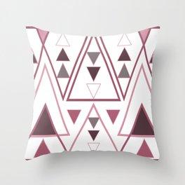 BLUSHING▽△ Throw Pillow