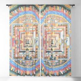Mandala Buddhist 8 Sheer Curtain