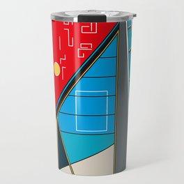Edificio San Gabriel -Detail- Travel Mug