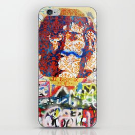 Peace on Earth - Love - Because the World is Round it Turns me On iPhone Skin