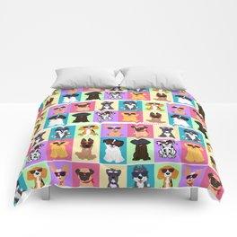 Doggie summer breeds NilseMariely, Diseños que Ladran Comforters