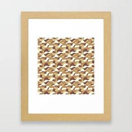 Desert camo 2 Framed Art Print