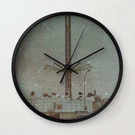 The Strange Carousel Wall Clock