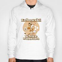 lebowski Hoodies featuring The Big Lebowski by Giovanni Costa
