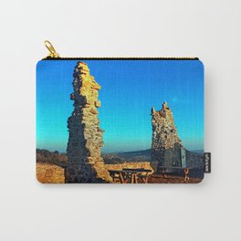 Taking a rest at the ruin | architecture photography Carry-All Pouch