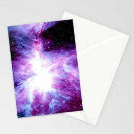 Orion Nebula Purple Periwinkle Blue Galaxy Stationery Cards