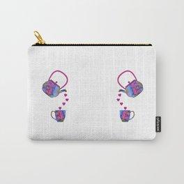 Tea Set #beverage #tea Carry-All Pouch