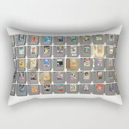 50 Nintendo Games Rectangular Pillow