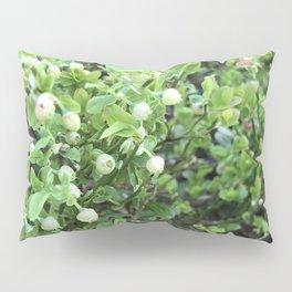 Green forest berries Pillow Sham