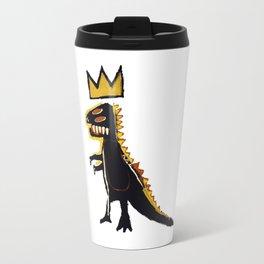Basquiat Dinosaur King Travel Mug