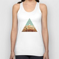 carousel Tank Tops featuring Carousel Lights by Cassia Beck