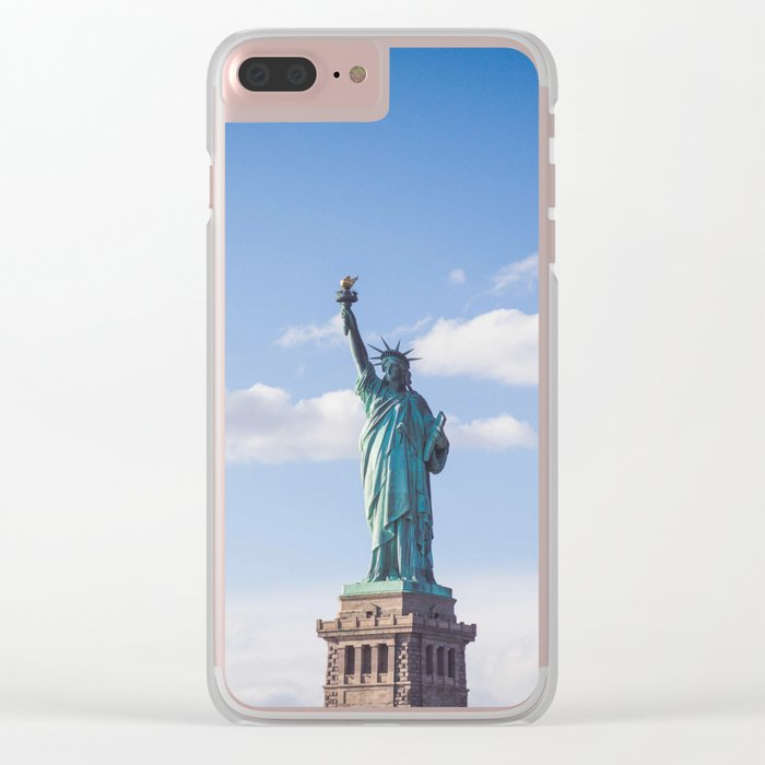 Freedom Clear iPhone Case