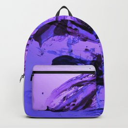 Ferocious And Calming Lavender Abstract Backpack